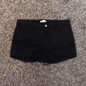 H&M High Rise Shorts - Black